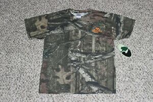 NEW Youth Boy's MOSSY OAK Break-Up Infinity Camo T-Shirt S M L Hunting Tee