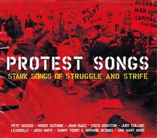 PROTEST SONGS - STARK SONGS OF STRUGGLE AND STRIFE (NEW SEALED 2CD)