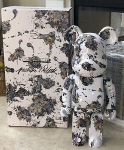 Jackson Pollock Splash 1000% Bearbrick Authentic Medicom US Seller