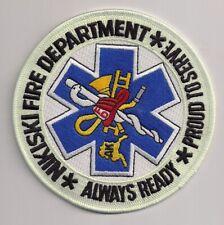 Patch Nikiski Fire Department Alaska USA Feuerwehr