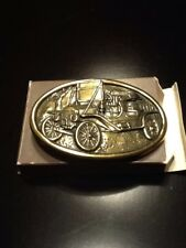 New Avon Model A Americana Belt Buckle. NOS 1985 Car Collectible