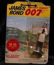 Vintage 1965 James Bond 007 No.10 DR. NO Figure, Sealed on Card