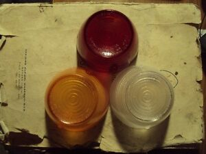 Maserati 3500 GTI Sebring one amber, red, or clear ALTISSIMO tail light lens