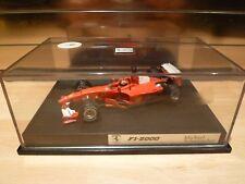 Hotwheels 1/43 Ferrari F1 2000, Michael schumacher Collection. M.I.B.