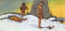 Jaquette Plume aux Vents Morts dans la neige