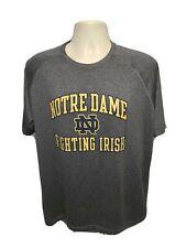 Under Armour University of Notre Dame Fighting Irish Adult Large Gray TShirt