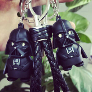1X Light Up LED Star Wars Darth Vader With Sound Keyring Keychain Chic Gift P