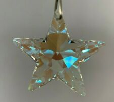 Swarovski 8815-40 Mm *Ab* Star Crystal Prism Pendant, Suncatcher, New! Logo