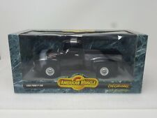 1956 FORD F100 STEP SIDE PKP BLK  ERTL COLLECTIBLES  1/18 AMERICAN MUSCLE SERIES
