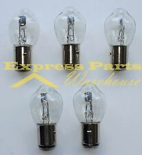 5) New S2 - Scooter Snowmobile ATV Lighting Light Bulbs 12V 35 / 35W BA20d 12728
