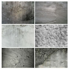 Grey Concrete Texture Vinyl Photography Backdrop Studio Photo Background Cloth