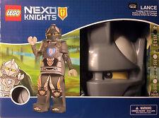 LANCE PRESTIGE CHILD COSTUME lego castle NEW legos NEXO KNIGHTS 4-6 mask hands