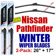 WINTER Wiper Blades 2-Pack Premium - fit 2013+ Nissan Pathfinder - 35260/170