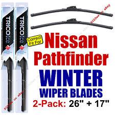 WINTER Wiper Blades 2-Pack Premium - fit 2013-2016 Nissan Pathfinder - 35260/170