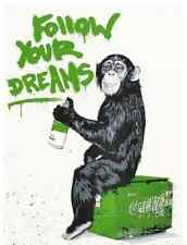 """""""EVERYDAY LIFE"""" (GREEN) 2011 - MR BRAINWASH - EXTREMELY RARE + SIGNED/# ONLY 50"""
