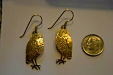 Wild Bryde Jewelry Gold Earrings Unique Animal Bird Fish Flower Tree Lighthouse