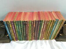 Vtg Harlequin Romance Book Lot of 27 All Red Edge