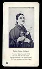 "santino-holy card""S.GEMMA GALGANI 11"