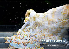 Clamp Tsubasa Sakura Wedding Dress Cosplay Costume Custom Lolita Elegant