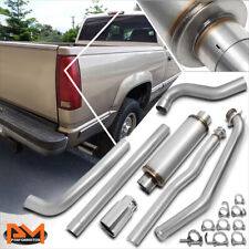 "For 93-00 Chevy/GMC C/K 6.5 Diesel 5"" Rolled Tip Muffler Catback Exhaust System"