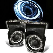 03-06 GMC Sierra Halo Projector Fog Lights Lamps Left+Right Pair 2003 2004-2006