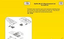 CMK 1/72 MOTORE Supermarine Spitfire Mk. IX ala armamento Set Per Airfix # 7196