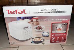 TEFAL Easy Cook + cuiseur à riz et mijoteuse. Neuf