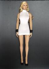 "Custom 1:6 Figure Toy White Sexy Female Dress For 12"" Phicen TBLeagure Body Doll"