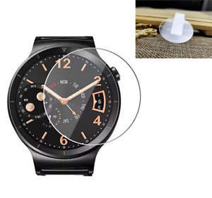 Universal Round Watch Tempered Glass Screen Protector Film for LG Huawei Samsung