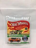 Repro 1969 Hot Wheels Light My Firebird Spoilers Blister Card Redline RLC NEW