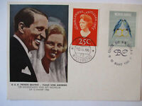 Netherlands, Antilles, Adel, Wedding Beatrix And Claus By Amsberg 1966