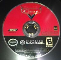 DISNEY CARS - NINTENDO GAMECUBE - GAME DISC ONLY - FREE S/H - (AA)