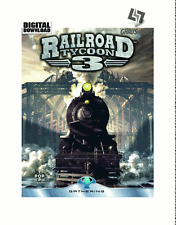 Railroad TYCOON 3 STEAM KEY PC GAME Codice Download Gioco [SPEDIZIONE LAMPO]