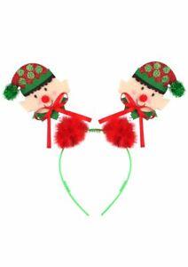 Elf Headband Bopper - Costume Accessory Fancy Dress Up Christmas Santa Furry