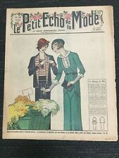 1932 LE PETIT ECHO DE LA MODE Magazine From Paris, France - Women's Fashion
