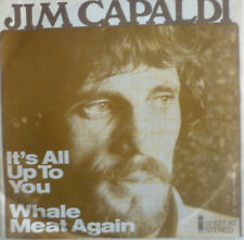 "7"" 1974 RARE IN VG+++ ! JIM CAPALDI : It´s All Up To You"