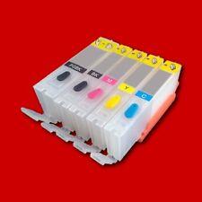 FILL IN CARTUCCE REFILL CISS + CHIP PER CANON PIXMA TS 6051 6052 8000 9000 Series