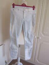 Très bon état hudson grey & white tie dye skinny stretch jeans taille 28 L30