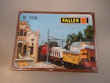 Faller N 2138 Bausatz Rohrblasgerüst Wasserkran etc. Spur N (60138)