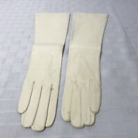 Kid Leather Victorian Theater Opera Bridal Gloves Italy