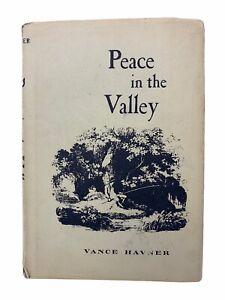 Peace In The Valley by Vance Havner (1962 Pocket Hardback) C2