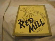 """PROGRAM THEATER  SARASOTA NY """"1976"""" SEASON THE RED MILL"""