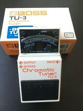 Boss TU-3 Chromatic Tuner Pedal & original Box-Bargain LOW RESERVE 0,99p start!!