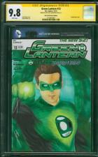 Green Lantern 13 CGC SS 9.8 Hal Jordan Ryan Reynolds Ness Original art Sketch