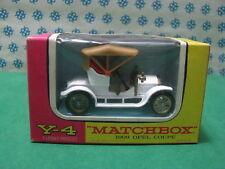 Vintage -  OPEL  Coupè  1909             - Matchbox  N° Y-4    Mint box