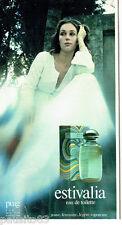 PUBLICITE ADVERTISING 036  1978  Puig  eau de toilette Estivalia