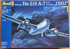 """Revell 04666 Heinkel He 219 A-7 """"UHU"""" 1:32 ovp"""