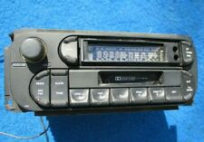 2005 2010 Dodge Ram Jeep AM FM Cassette Radio Original Mopar w/ MP3 Imput