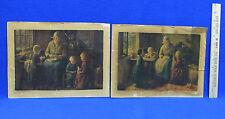 Vintage Mother and Children Print by Bernard Pothast Lot of 2
