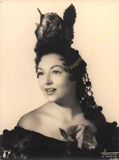 Original Photo MARINA HOTINE Photo HARCOURT PARIS 18cm x 24cm